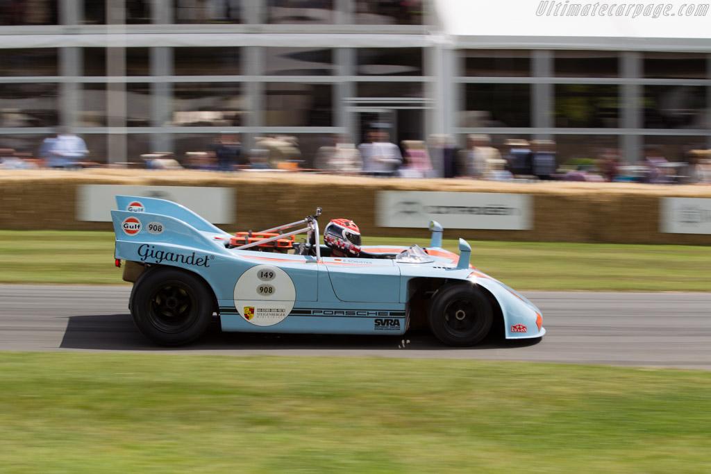 Porsche 908/3  - Entrant: Ernst Schuster - Driver: Emanuele Pirro  - 2015 Goodwood Festival of Speed