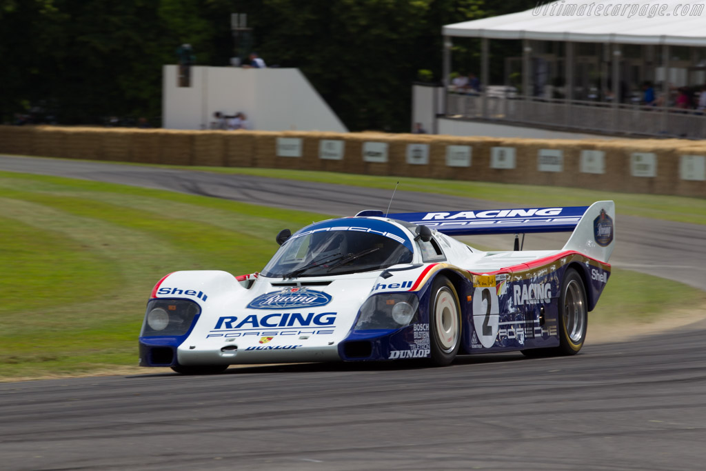 Porsche 956 - Chassis: 956-007 - Driver: Henri Pearman  - 2015 Goodwood Festival of Speed