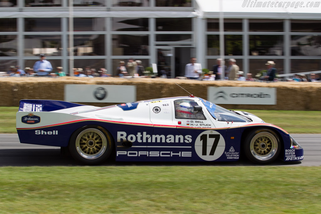 Porsche 962C - Chassis: 962-006 - Entrant: Porsche Museum GOH - Driver: Derek Bell  - 2015 Goodwood Festival of Speed