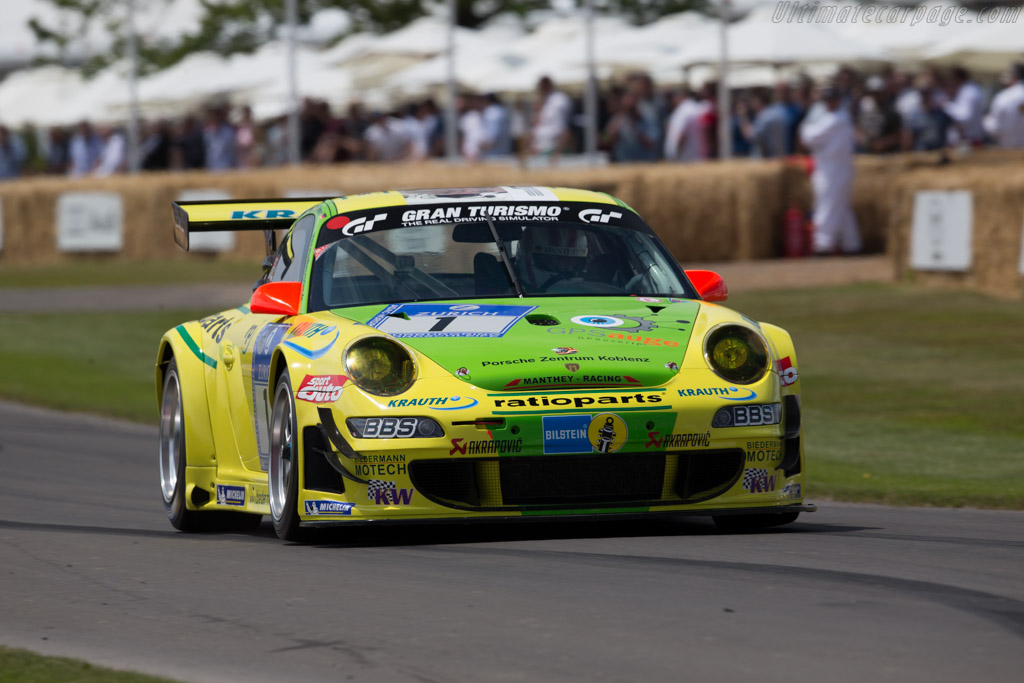 Porsche 997 GT3 RSR - Chassis: WP0ZZZ99Z7S799927 - Driver: Olaf Manthey  - 2015 Goodwood Festival of Speed
