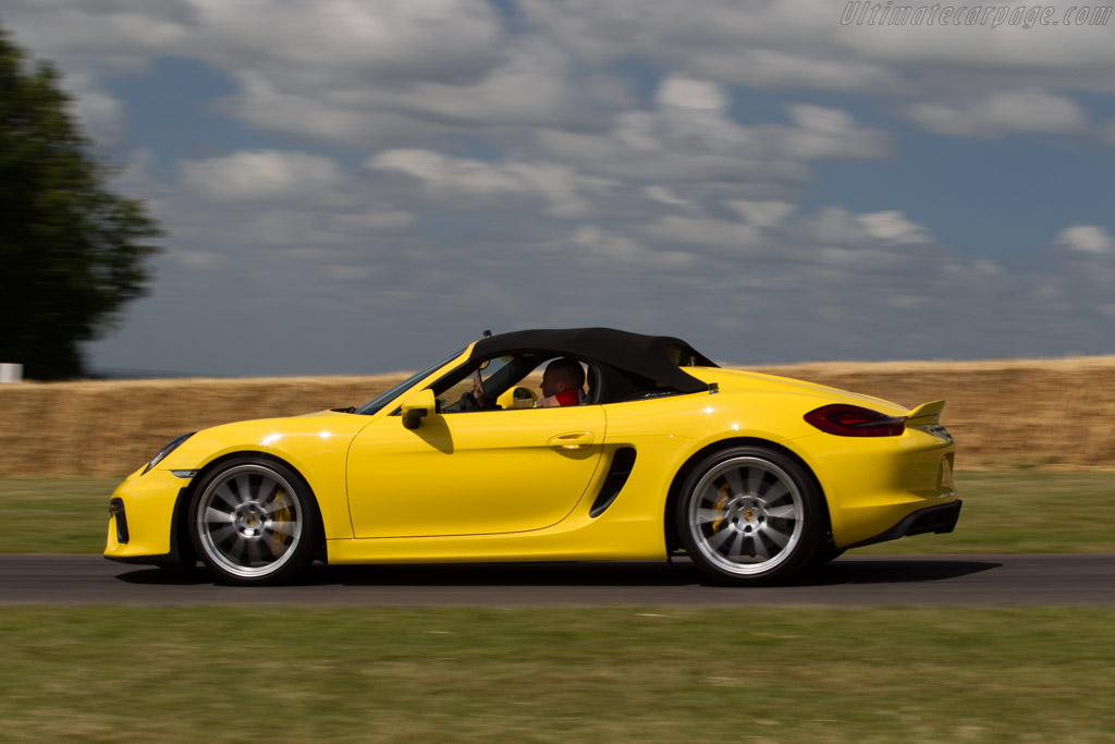 Porsche Boxster Spyder    - 2015 Goodwood Festival of Speed