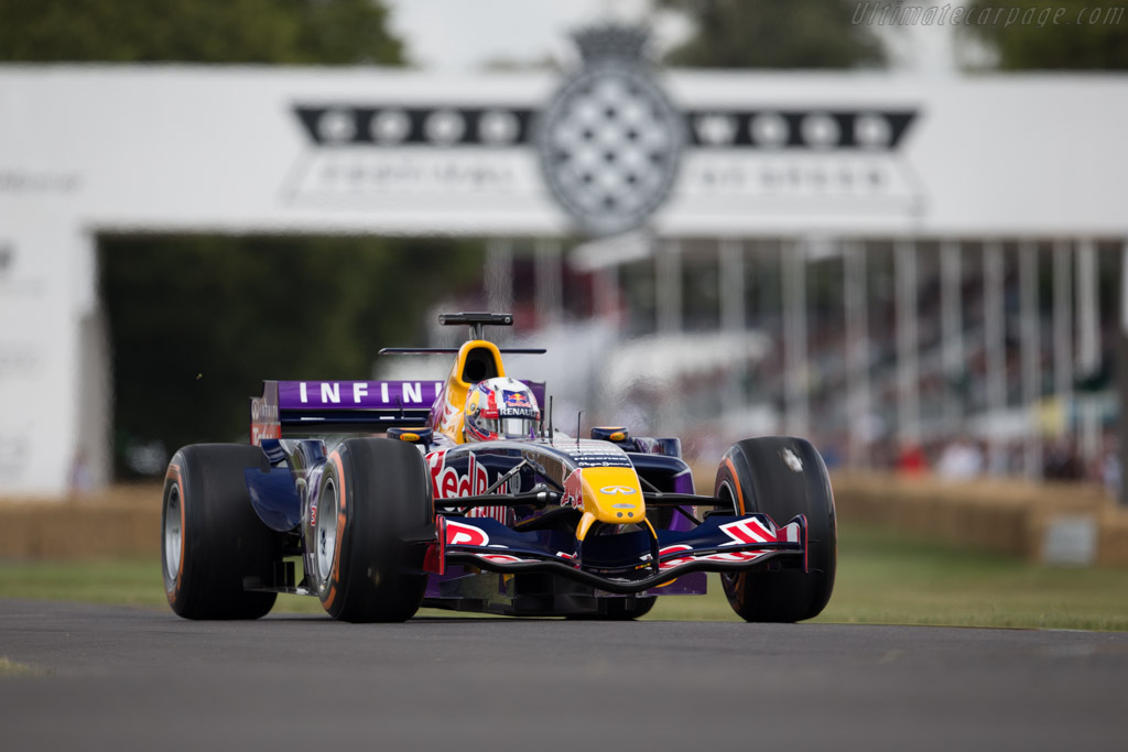 Red Bull Racing RB1 Cosworth  - Entrant: Red Bull Racing - Driver: Pierre Gasly  - 2015 Goodwood Festival of Speed