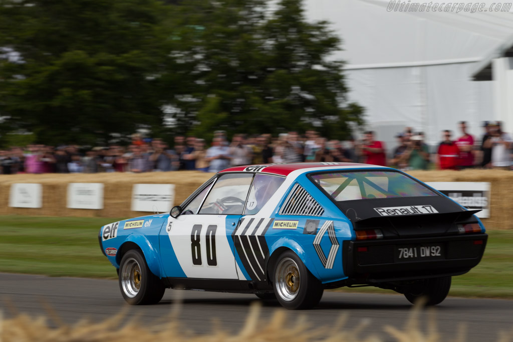 Renault 17 Group 5 - Chassis: 52155 - Entrant: Collection Renault - Driver: Michel Leclere  - 2015 Goodwood Festival of Speed