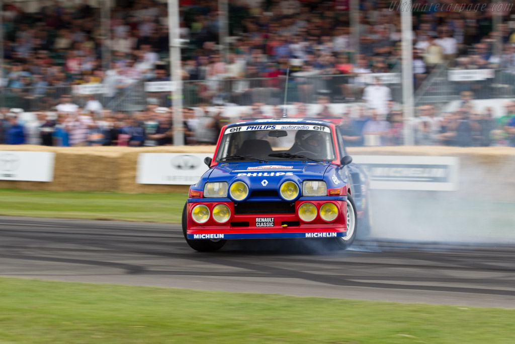 Renault 5 Maxi Turbo  - Entrant: Collection Renault - Driver: Jean Ragnotti  - 2015 Goodwood Festival of Speed
