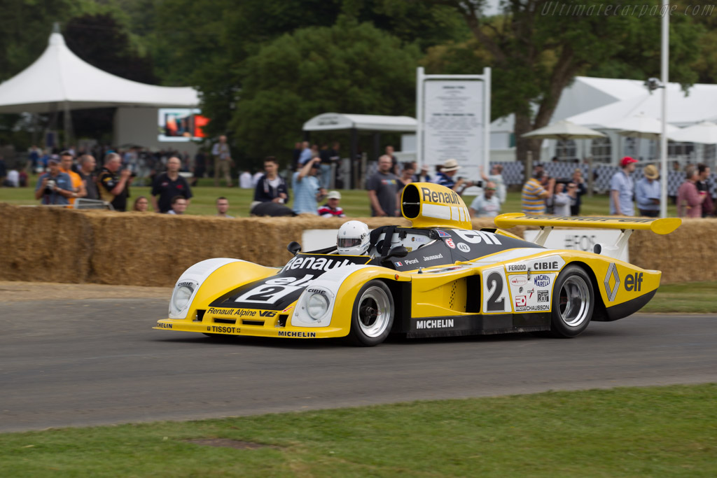 Renault-Alpine A442B - Chassis: 442/3 - Entrant: Collection Renault - Driver: René Arnoux  - 2015 Goodwood Festival of Speed