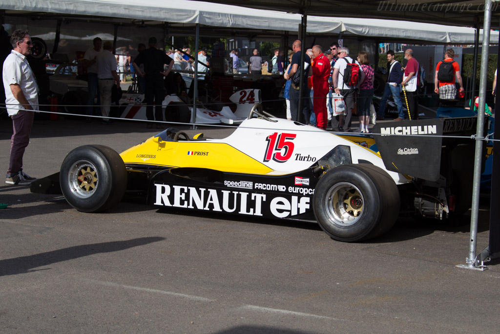 Renault RE40 - Chassis: RE40-04 - Entrant: Collection Renault  - 2015 Goodwood Festival of Speed
