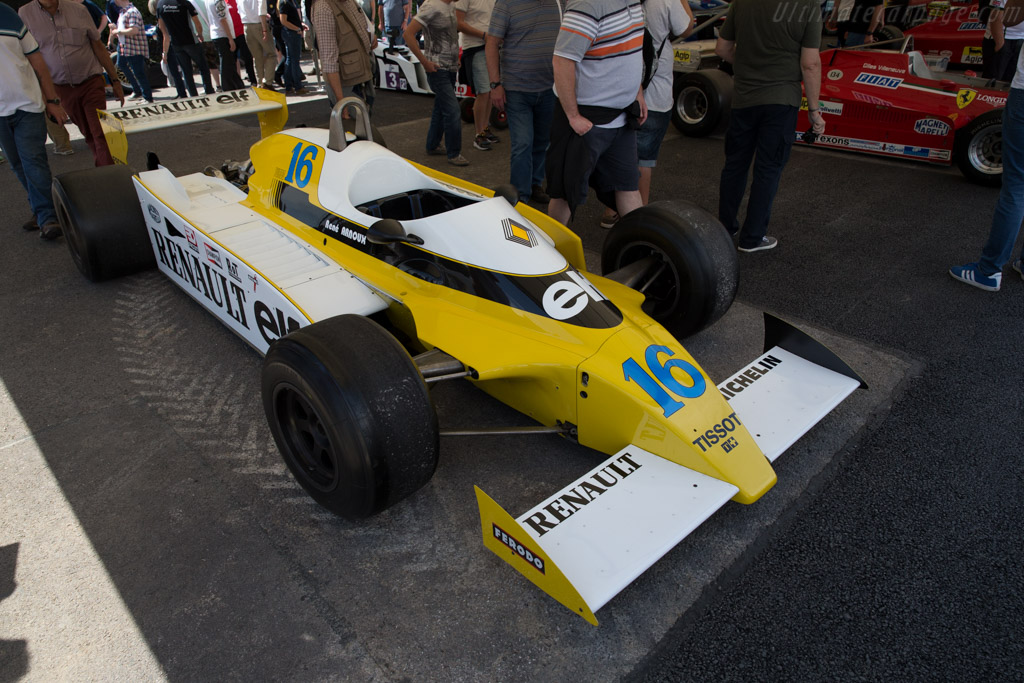 Renault RS10 - Chassis: RE-022 - Entrant: Collection Renault  - 2015 Goodwood Festival of Speed