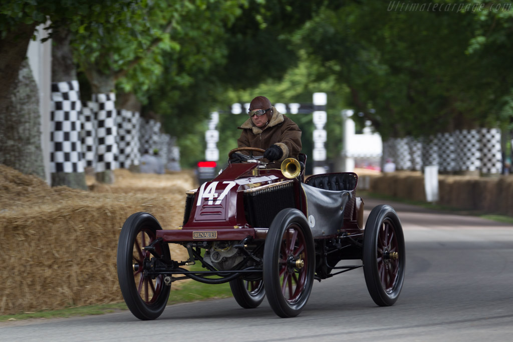 Renault Type K Paris-Vienna  - Entrant: Collection Renault - Driver: Eric Leroux  - 2015 Goodwood Festival of Speed
