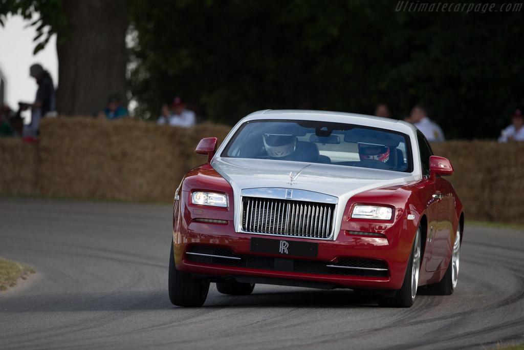 Rolls-Royce Wraith    - 2015 Goodwood Festival of Speed