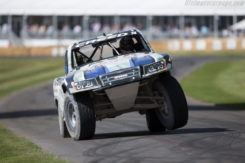 Stadium Super Truck  - Entrant: Robby Gordon - Driver: Tim Creed  - 2015 Goodwood Festival of Speed