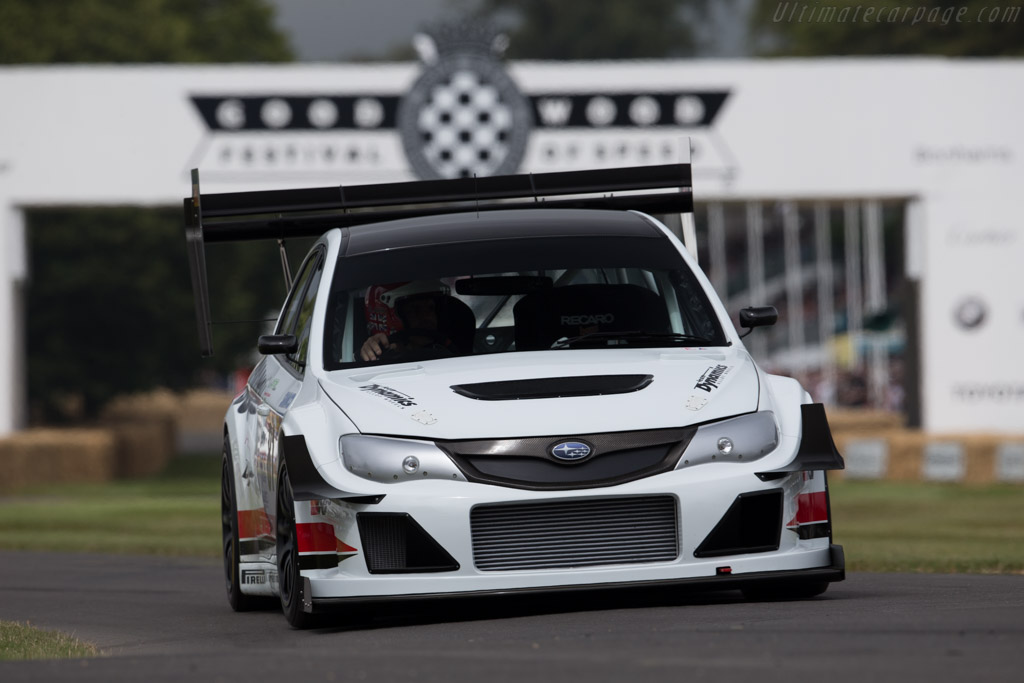 Subaru Impreza Gobstopper II  - Driver: Olly Clark  - 2015 Goodwood Festival of Speed