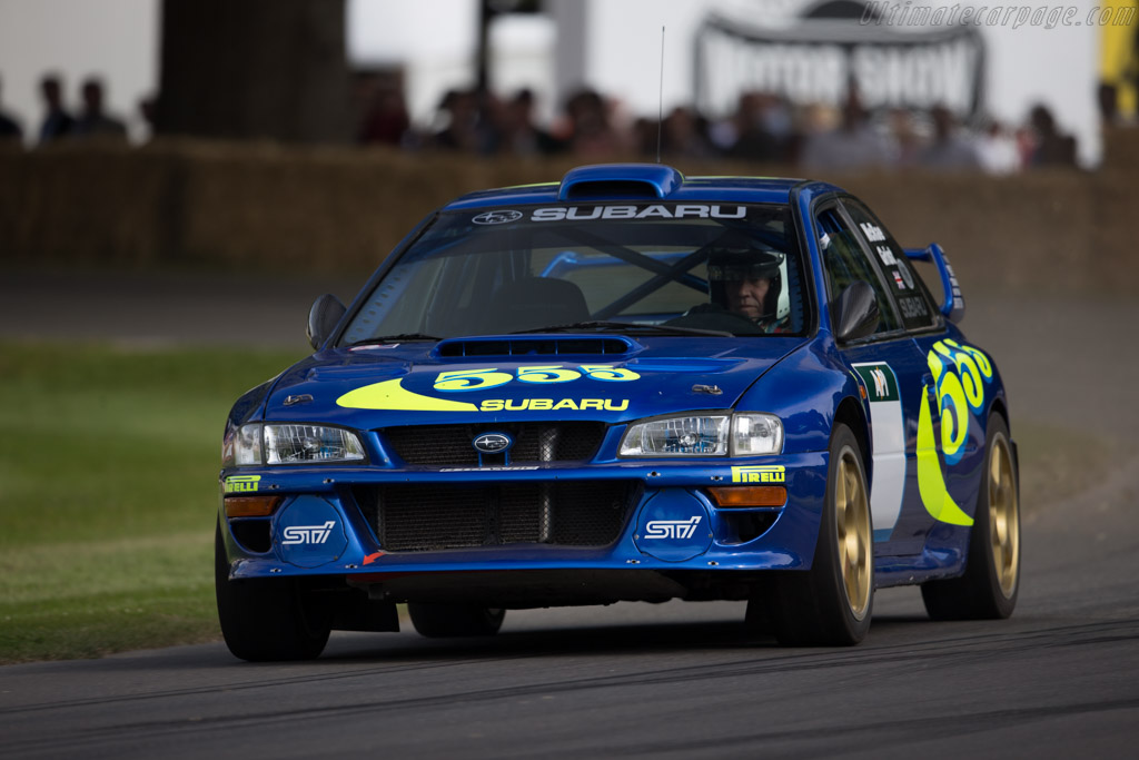 subaru impreza wrc chassis pro gc8 98 023 driver james avis 2015 goodwood festival of speed. Black Bedroom Furniture Sets. Home Design Ideas