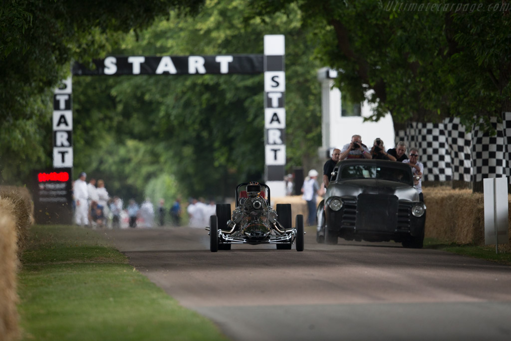 Swamp Rat 1  - Driver: Don Garlits  - 2015 Goodwood Festival of Speed