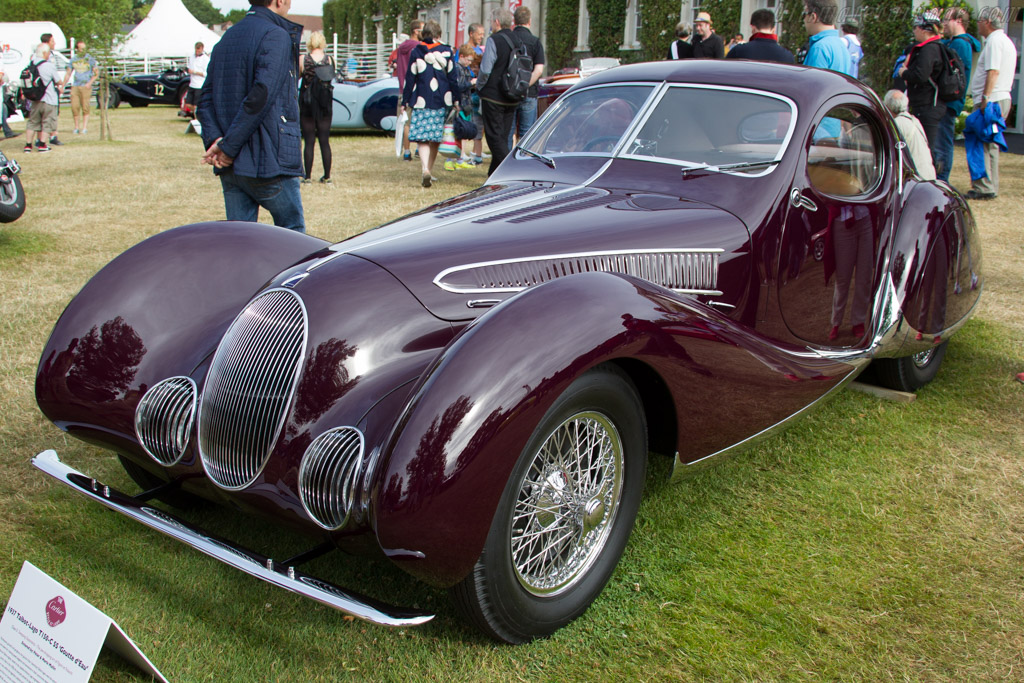 Talbot Lago T150C SS Teardrop - Chassis: 90106 - Entrant: Peter Mullin  - 2015 Goodwood Festival of Speed