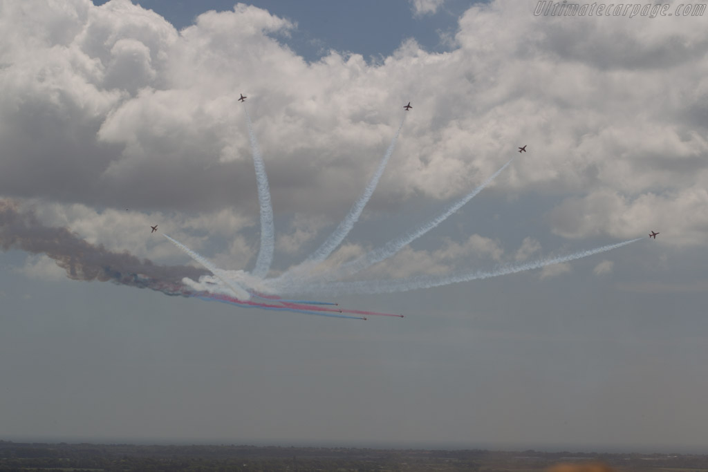 The Red Arrows    - 2015 Goodwood Festival of Speed