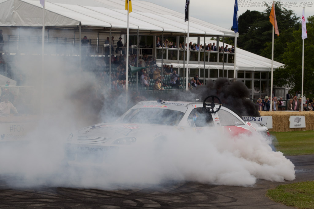 Toyota Camry  - Entrant: Red Bull Motorsports - Driver: Patrick Friesacher  - 2015 Goodwood Festival of Speed