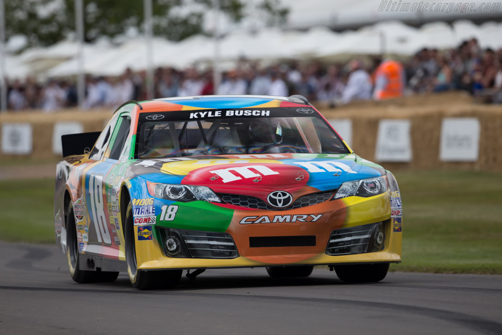 Toyota Camry  - Entrant: Will Spencer - Driver: Max Chilton  - 2015 Goodwood Festival of Speed