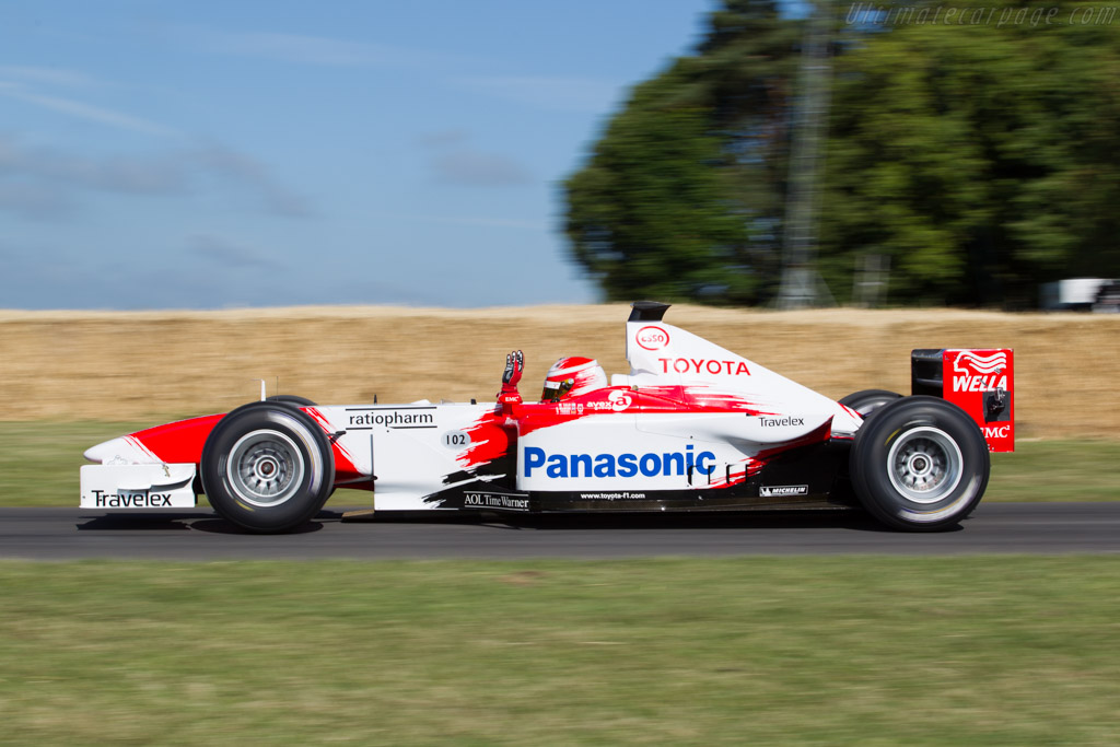 Toyota TF102 - Chassis: TF102-01 - Driver: Harald Fuchs  - 2015 Goodwood Festival of Speed