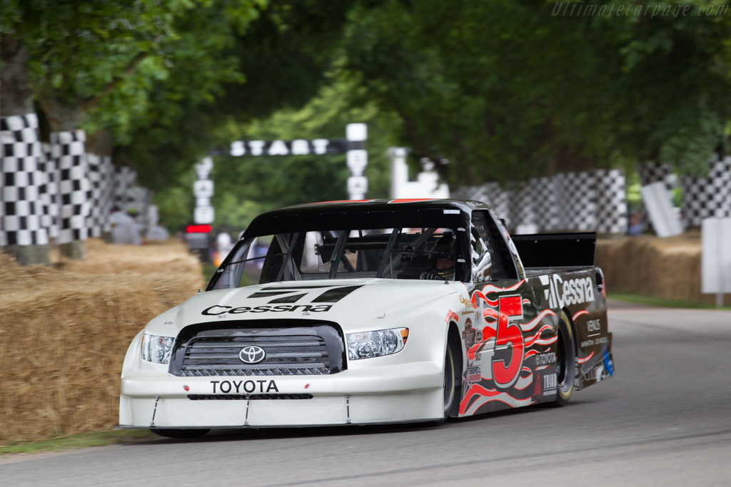 Toyota Tundra  - Entrant: Andrew Franzone - Driver: Mike Skinner  - 2015 Goodwood Festival of Speed