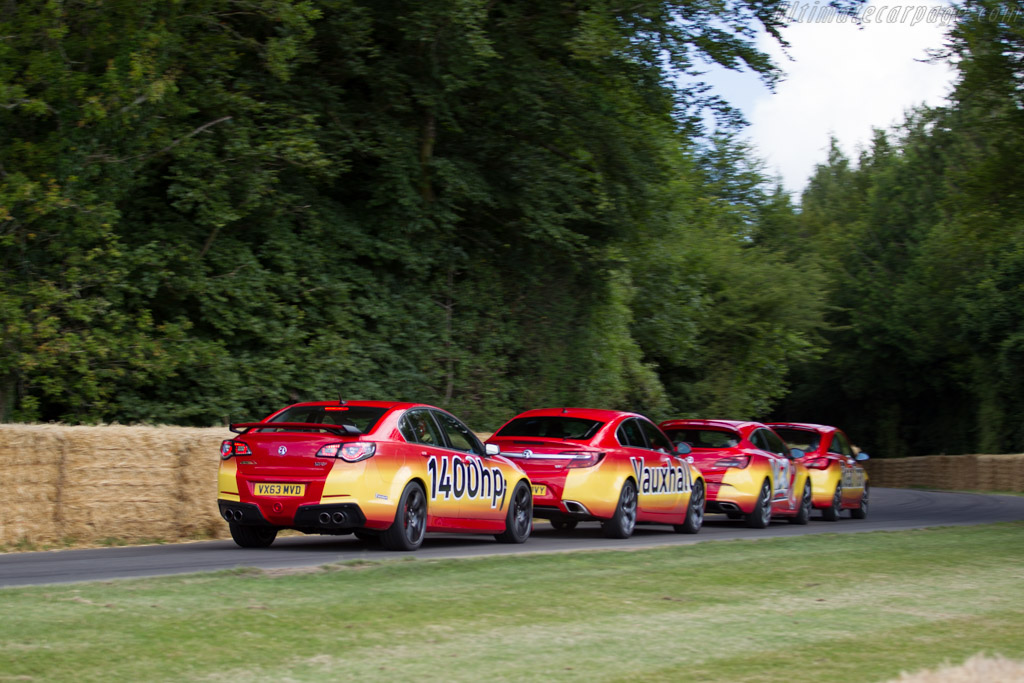 Vauxhaul VXR Roadtrain    - 2015 Goodwood Festival of Speed