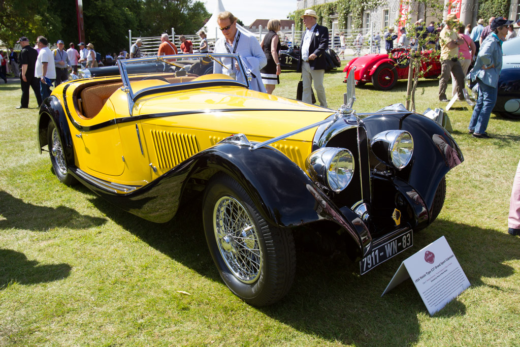 Voisin C27 Figoni Cabriolet - Chassis: 52001 - Entrant: Peter Mullin  - 2015 Goodwood Festival of Speed