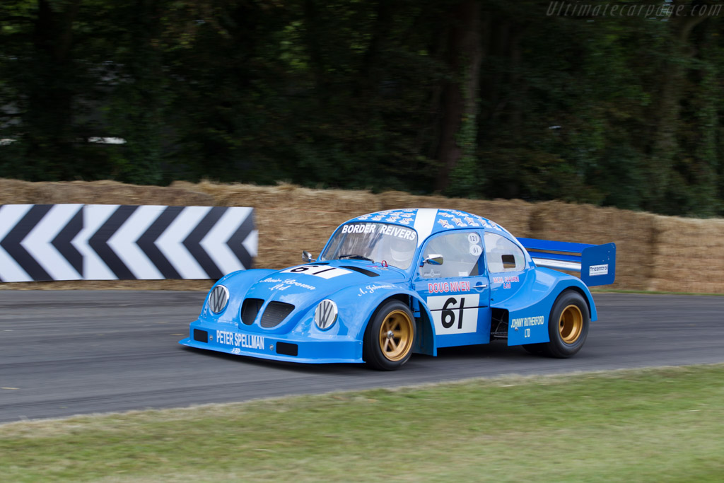 Volkswagen Beetle Chevrolet  - Entrant: David Taylor - Driver: Chris Knox / Doug Niven  - 2015 Goodwood Festival of Speed