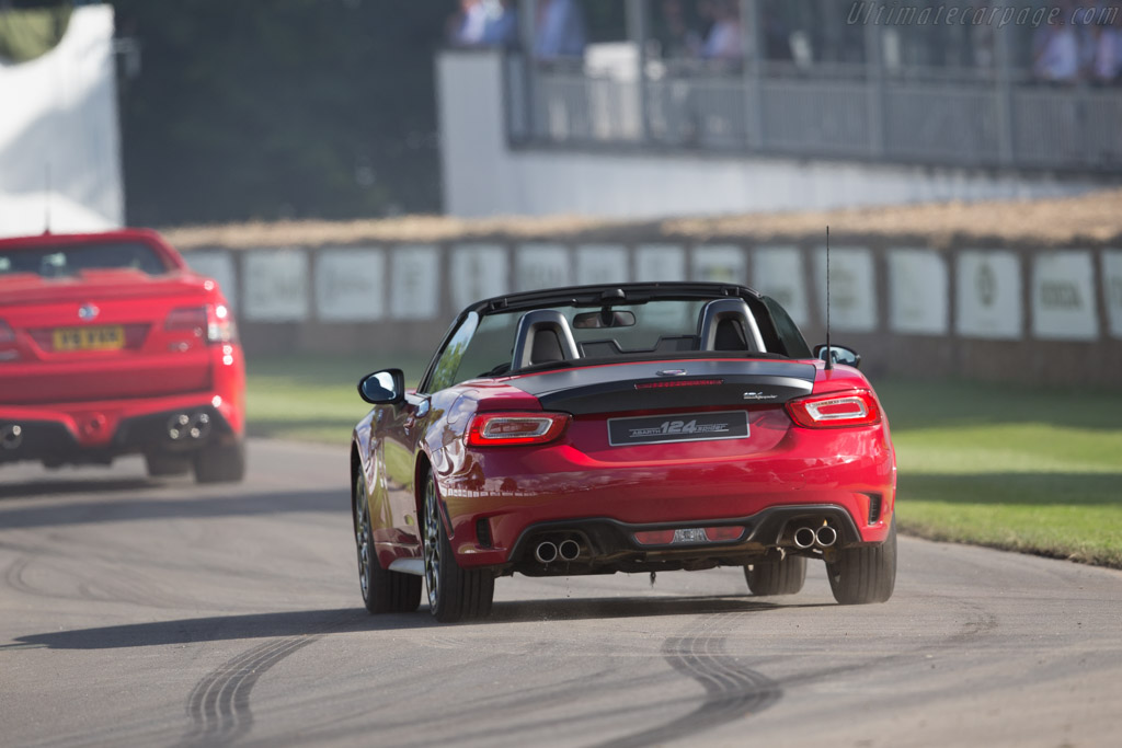 Abarth 124 Spider    - 2016 Goodwood Festival of Speed