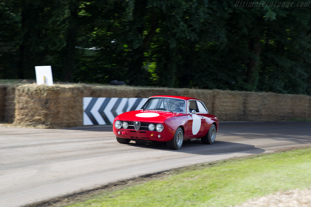 Alfa Romeo 1750 GTAm - Chassis: 1530782 - Entrant: Alfa Romeo Museo Storico - Driver: Gianfranco Gentile  - 2016 Goodwood Festival of Speed