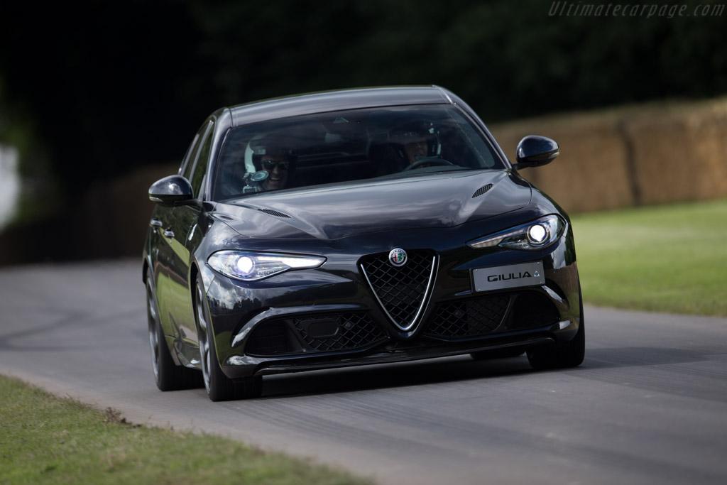 Alfa Romeo Giulia    - 2016 Goodwood Festival of Speed