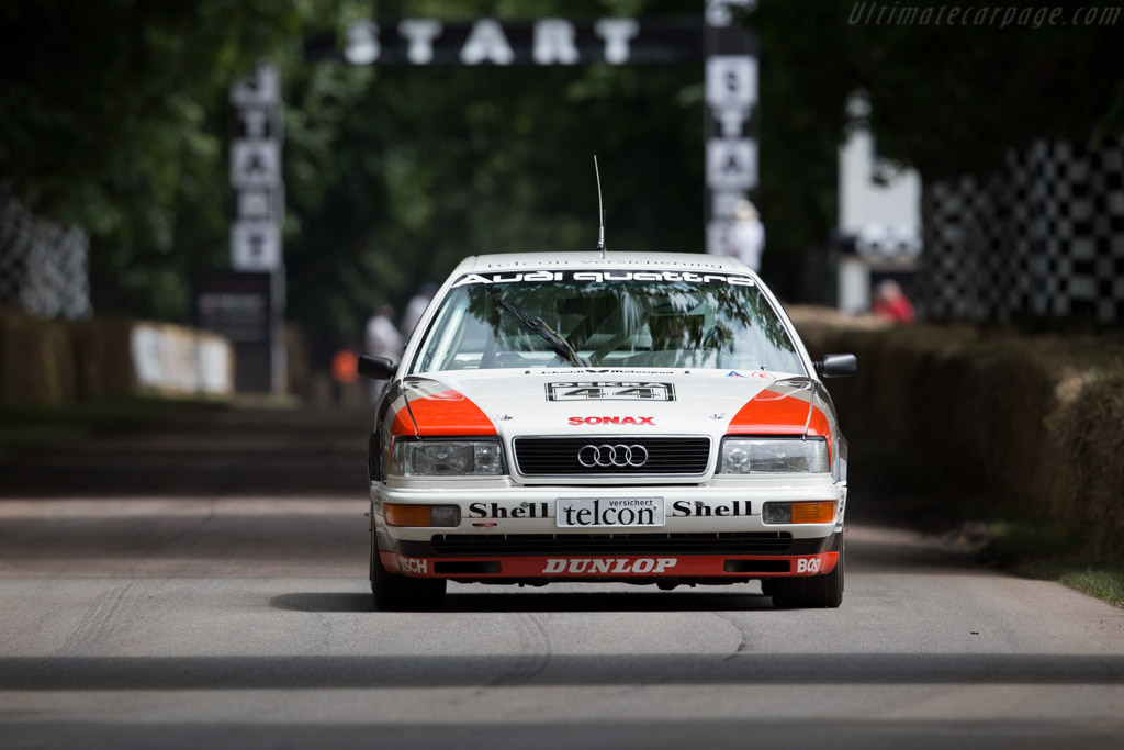 Audi V8 Quattro DTM  - Entrant: Audi Tradition - Driver: Frank Biela  - 2016 Goodwood Festival of Speed