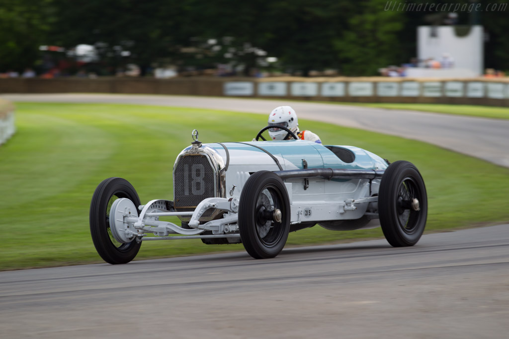 Austro Daimler  - Driver: Egon Zweimuller Jr  - 2016 Goodwood Festival of Speed