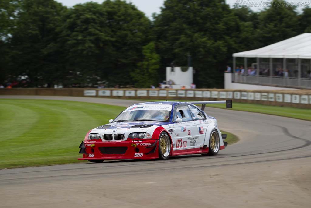 BMW M3 GTR  - Driver: Ric Wood  - 2016 Goodwood Festival of Speed