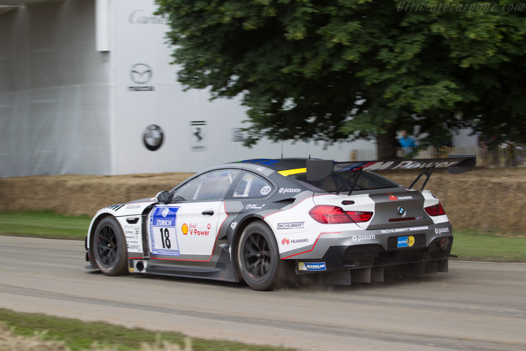 BMW M6 GT3  - Entrant: BMW Group Classic - Driver: Eric van de Poele  - 2016 Goodwood Festival of Speed