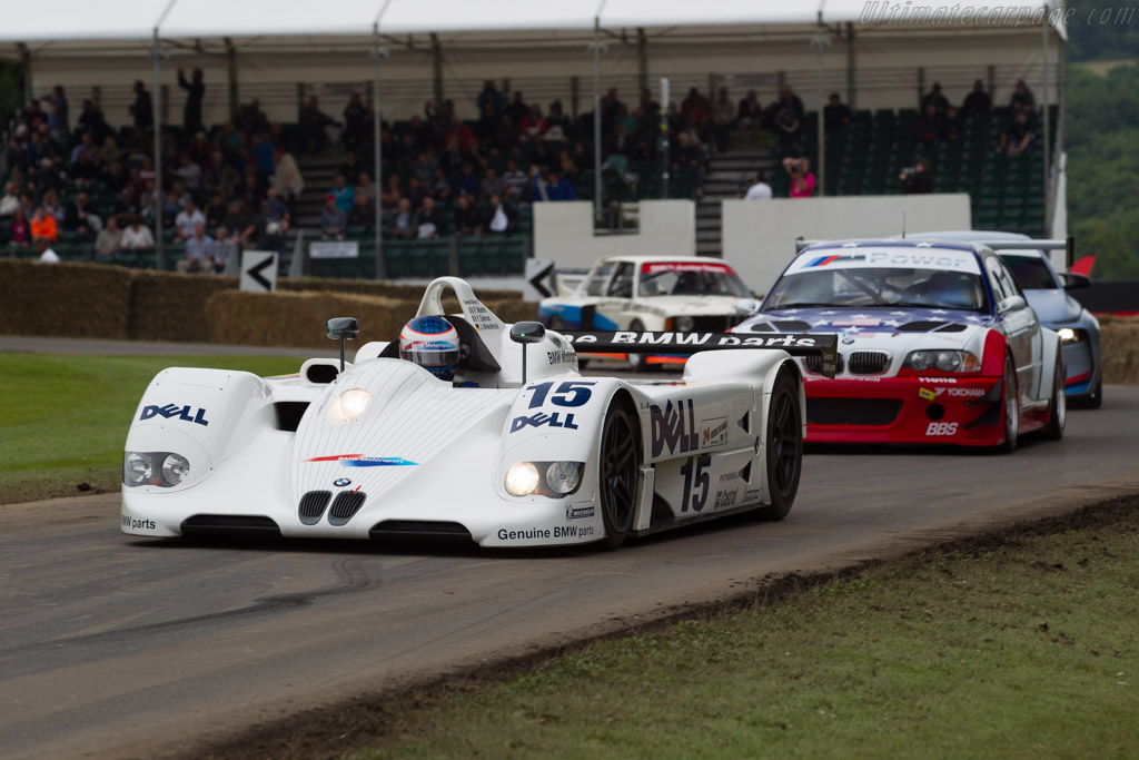 BMW V12 LMR - Chassis: 003/99 - Entrant: BMW Group Classic - Driver: Yannick Dalmas  - 2016 Goodwood Festival of Speed