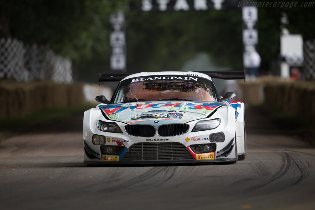 BMW Z4 GT3  - Entrant: BMW Group Classic - Driver: Alessandro Zanardi  - 2016 Goodwood Festival of Speed