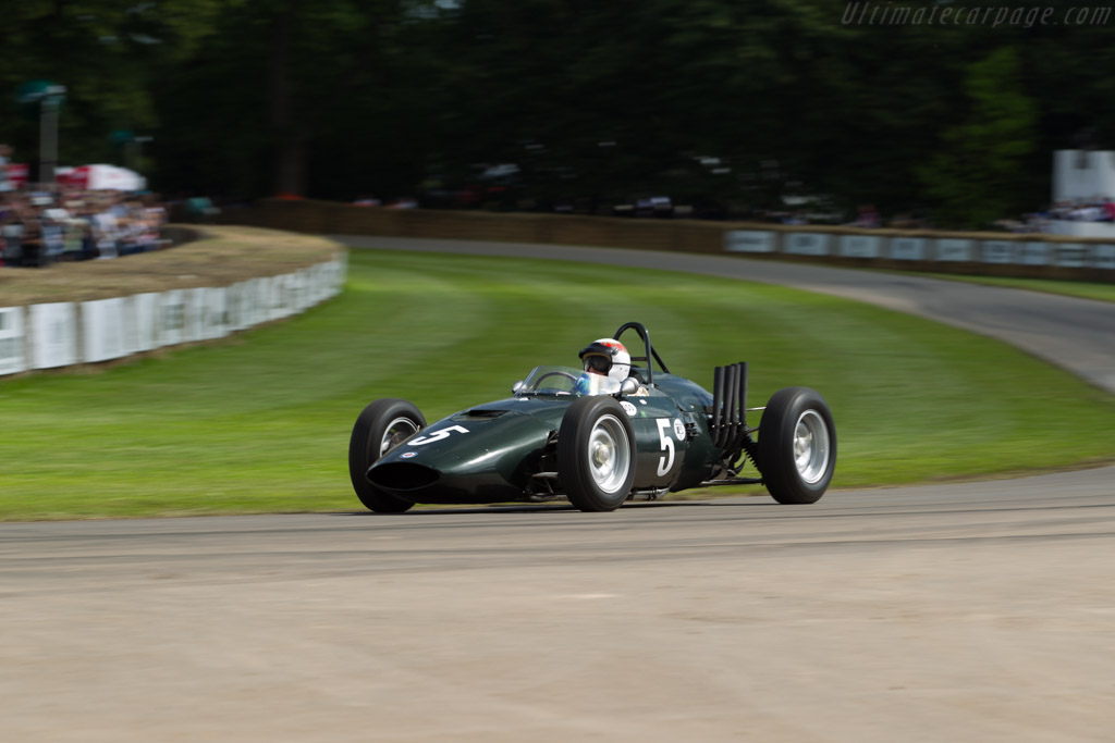 BRM P57 - Chassis: 572 - Entrant: David Clark - Driver: Sir Jackie Stewart  - 2016 Goodwood Festival of Speed