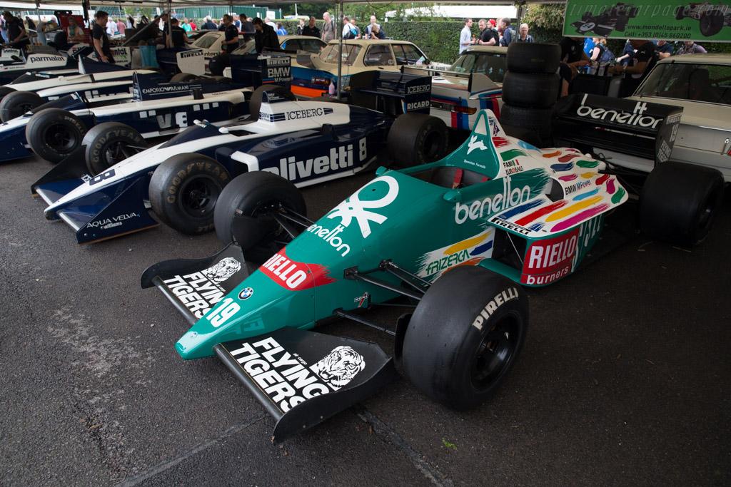 Benetton B186 BMW  - Entrant: Martin Birrane  - 2016 Goodwood Festival of Speed