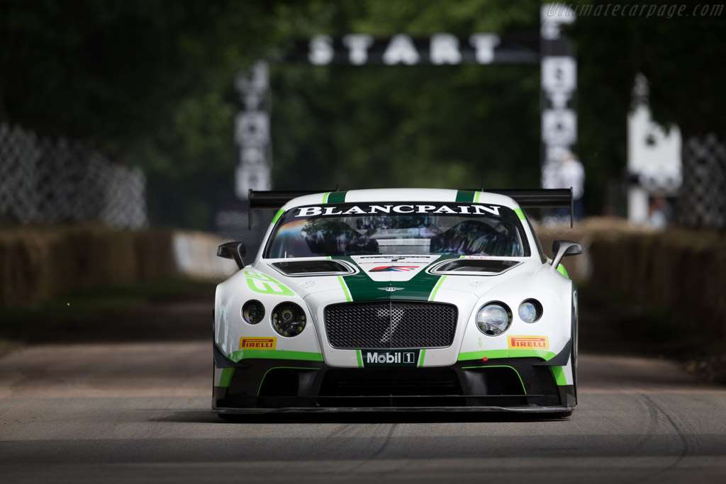 Bentley Continental GT3  - Driver: David Brabham  - 2016 Goodwood Festival of Speed
