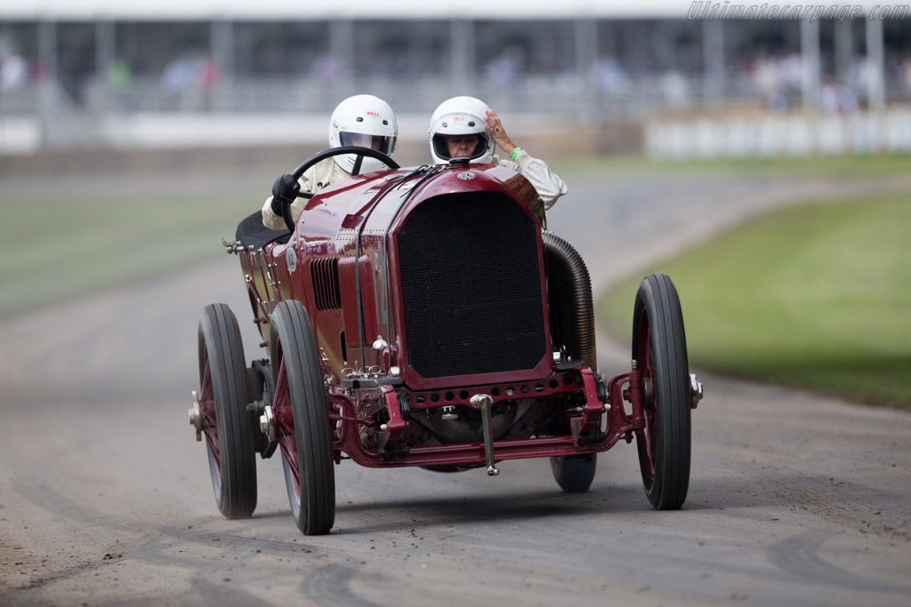 Benz 200hp Blitzen  - Driver: George Wingard  - 2016 Goodwood Festival of Speed