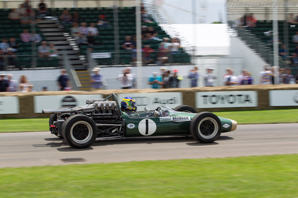 Brabham BT24 Repco  - Entrant: Masters Historic Racing - Driver: David Brabham  - 2016 Goodwood Festival of Speed