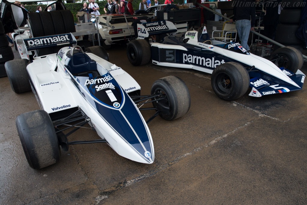 Brabham BT50 BMW  - Entrant: Bernie Ecclestone  - 2016 Goodwood Festival of Speed