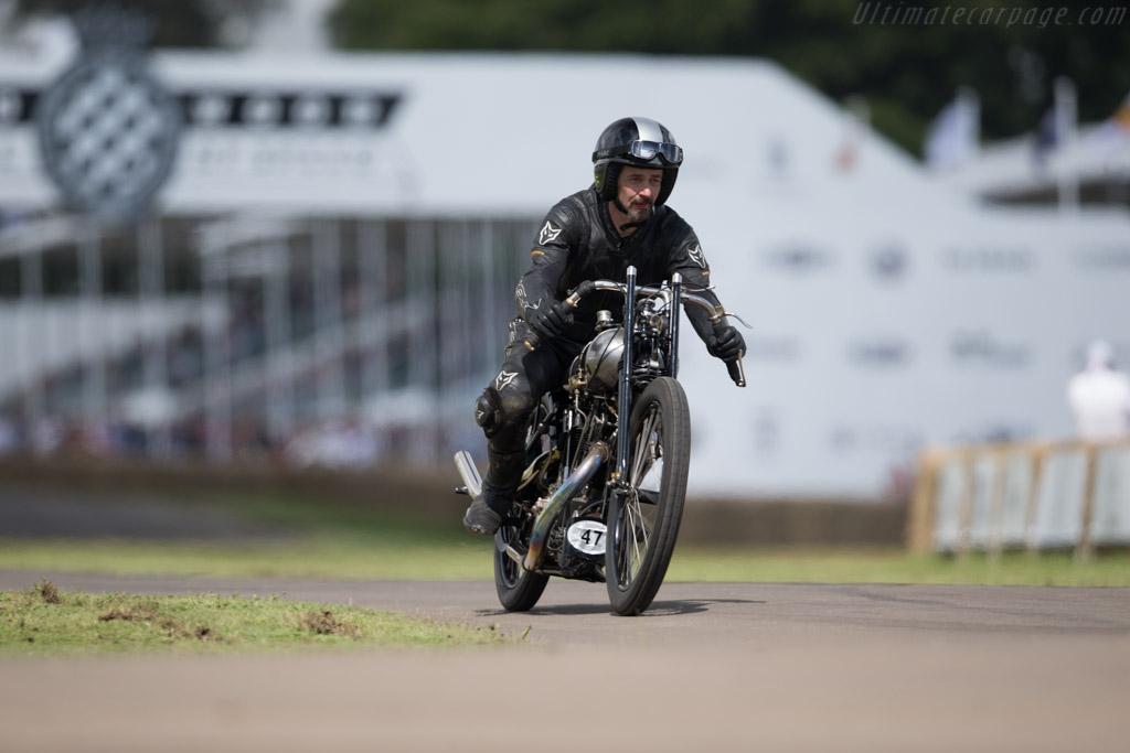 Brough Superior KTOR  - Driver: Ian Bain  - 2016 Goodwood Festival of Speed