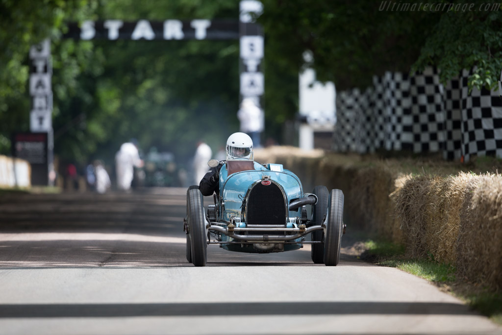 Bugatti Type 59 - Chassis: 59124 - Entrant: Marc Newson - Driver: Tim Dutton  - 2016 Goodwood Festival of Speed