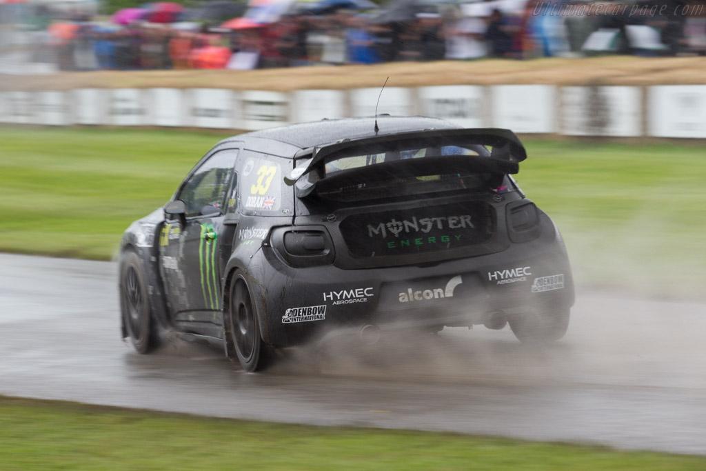 Citroen DS3 RX  - Driver: Liam Doran  - 2016 Goodwood Festival of Speed