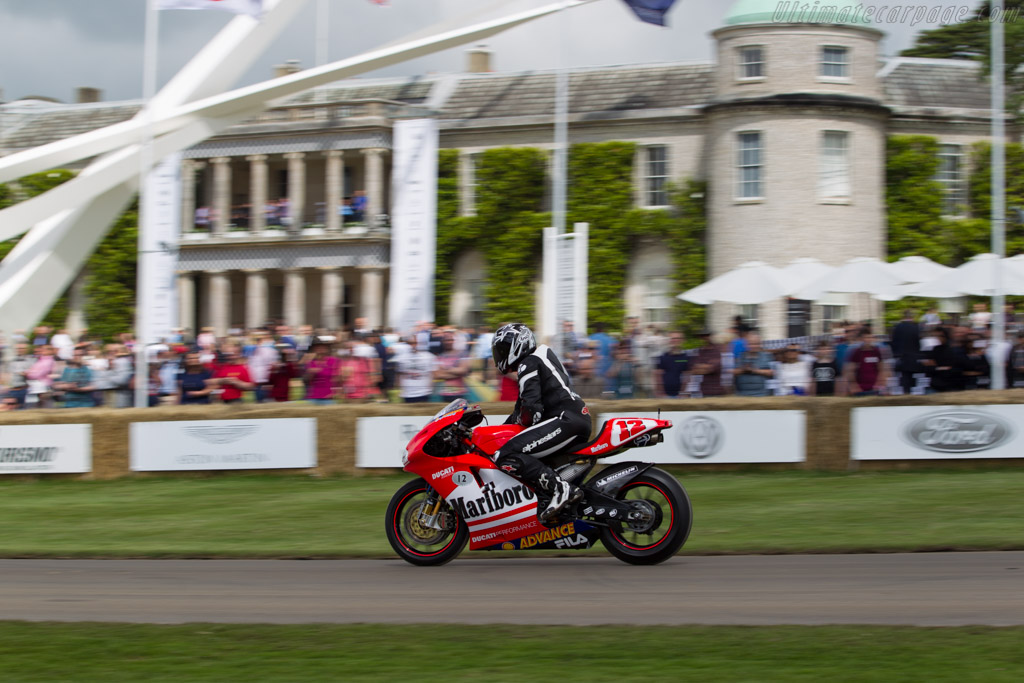 Ducati GP3  - Entrant: Patrick Morgan - Driver: Troy Bayliss  - 2016 Goodwood Festival of Speed