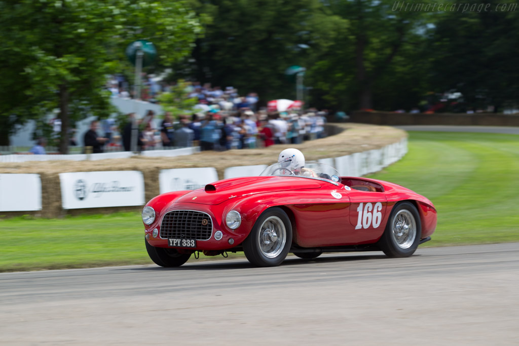 Ferrari 166 MM Touring Barchetta - Chassis: 0040M - Driver: Sally Mason-Styrron  - 2016 Goodwood Festival of Speed