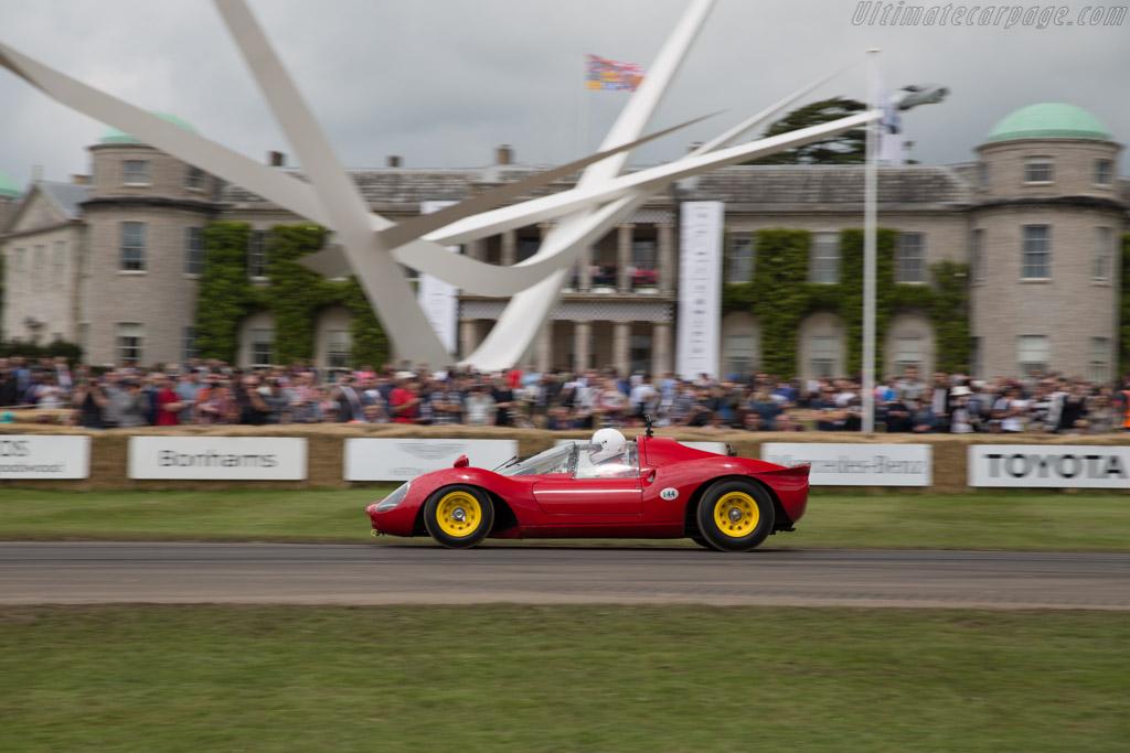 Ferrari 206P - Chassis: 0834 - Driver: Andreas Mohringer  - 2016 Goodwood Festival of Speed