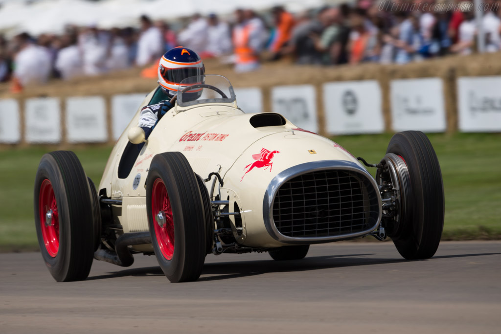 Ferrari 375 Indy - Chassis: 02 - Entrant: Louwman Museum - Driver: James Wood  - 2016 Goodwood Festival of Speed