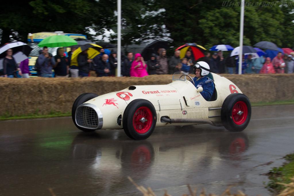 Ferrari 375 Indy - Chassis: 02 - Entrant: Louwman Museum - Driver: Evert Louwman  - 2016 Goodwood Festival of Speed