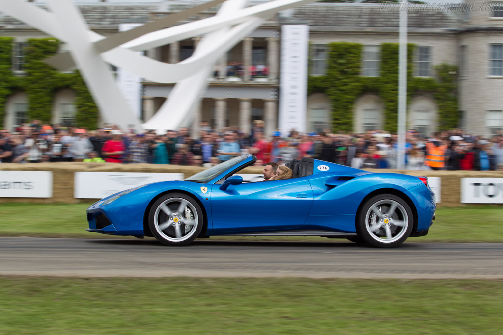 Ferrari 488 Spider - Chassis: 216997   - 2016 Goodwood Festival of Speed